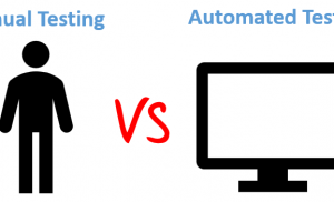 An Insight into Distinction between Automated and Manual Testing